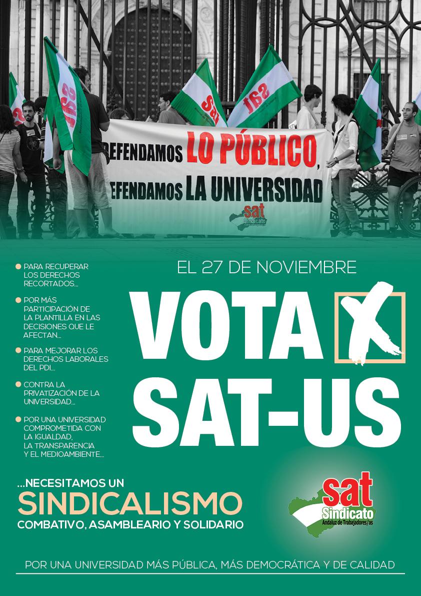 Cartel Elecciones sindicales SAT-US_A3