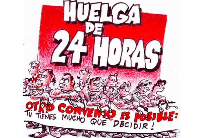 Imagen de Carlos Azagra para la campaña de CGT