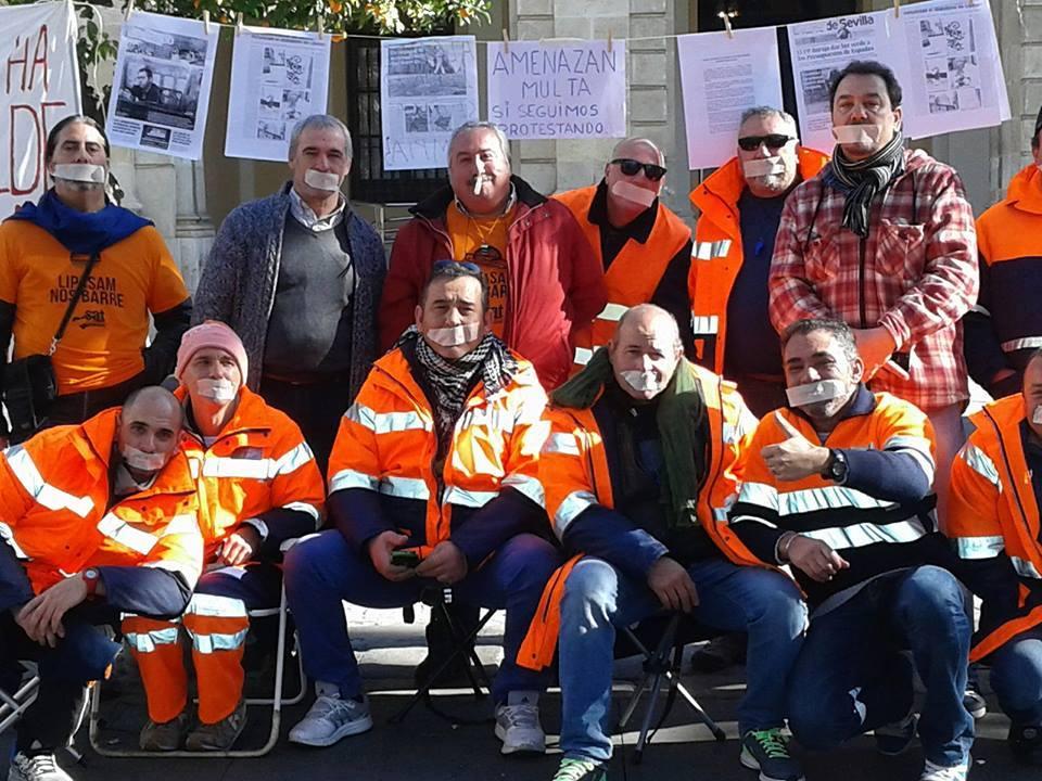 #LIPASAMnosbarre mantendrá una nueva reunión con el Ayuntamiento de Sevilla